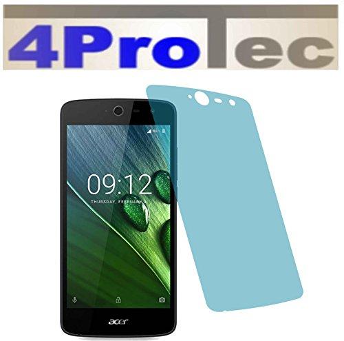 2X Crystal Clear klar Schutzfolie für Acer Liquid Zest 4G Premium Displayschutzfolie Bildschirmschutzfolie Schutzhülle Displayschutz Displayfolie Folie 3g Crystal Case