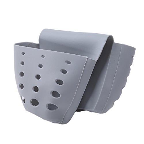 HENGSONG Kreative Küche Gadgets Hängende Aufbewahrungsbox Rack Korb Schwamm Wasche Tuch Toilettenseife Regal Organizer Spüle Storage Korb - Elf-bürstenhalter Kleine