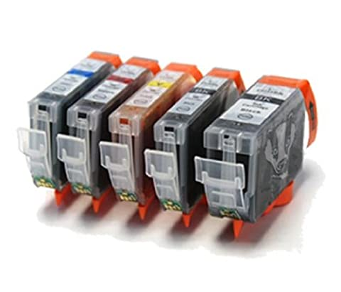 CLI8 / PGI5 Compatible Printer Ink Cartridges with Chips -