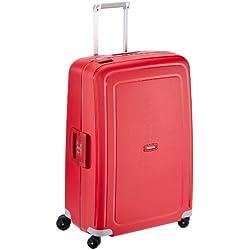 Samsonite S'Cure - Spinner L Valise, 75 cm, 102 L, Rouge (Crimson Red)