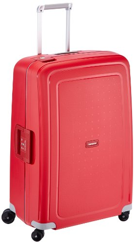 Samsonite S'Cure - Spinner L Koffer, 75 cm, 102 L, rot (crimson red)