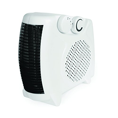 Rhino H02073 2KW Fan Heater, 2000 W, 230 V, White