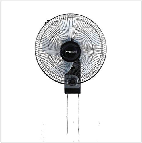 Preisvergleich Produktbild WTTHCC Ventilator 5-Blatt-Lüfter Kraftvoller Und Geräuscharmer Turbo-Ventilator 3 Laufgeschwindigkeiten Std.-Timer Wandventilator 17-Inch
