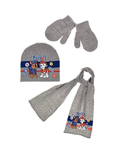 La Pat  Patrouille Echarpe, bonnet et moufles bébé enfant garçon 3 coloris  de 43384d41ed2