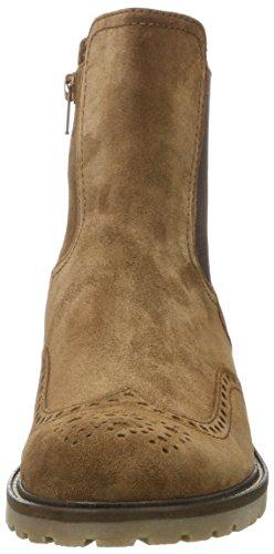 Gabor Comfort Basic, Stivali Chelsea Donna Marrone (34 Nut Mel.)