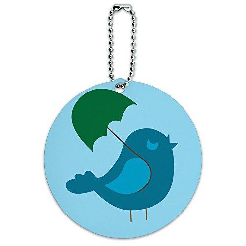 Cute Bird Baby Vogel Boy Dusche rund Gepäck ID-Tag-Koffer Handgepäck (Cute Boy Koffer)
