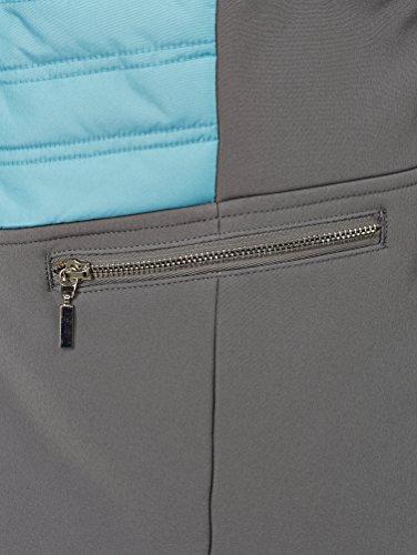Damen Jacke in kontrastfarbener Verarbeitung by Paola Schwarz/Weiß