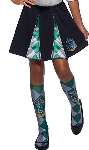 Rubie's 39030NS Slytherin Kostüm, Mädchen, Mehrfarbig (Slytherin Harry Potter Kostüm)