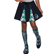Rubie's Official Harry Potter Slytherin Costume Skirt, Childs One Size Approx Age 6-12 Years