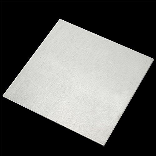 2 x 100 mm Titan-Platten TA2/GR2