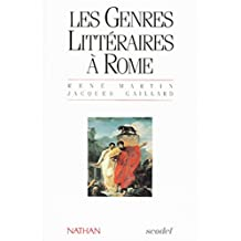 GENRES LITTERAIRE A ROME