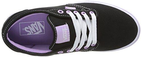 Vans Atwood Damen Sneakers Schwarz ((Canvas) Blk/or F8J)