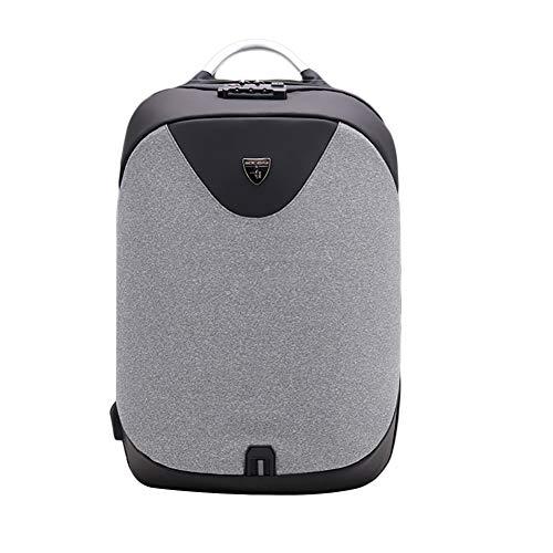 AimdonR Reise-Laptop-Rucksack Diebstahlsicherer Laptop-Rucksack mit USB-Ladeanschluss und Schloss