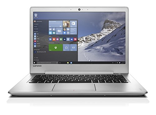 Lenovo ideapad 510S 35,56cm (14 Zoll Full HD IPS Anti-Glare) Slim Multimedia Notebook (Intel Core i7-7500U, 8GB RAM, 256GB SSD, AMD Radeon R7 M460 2GB, Windows 10 Home) silber