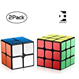 D Eternal Rubiks Cube Combo Of 2x2 3x3 Rubix Cube High Speed Stickerless Magic Rubick Rubic Cube Brainstorming Puzzle Cube Combo 2 Game Toy