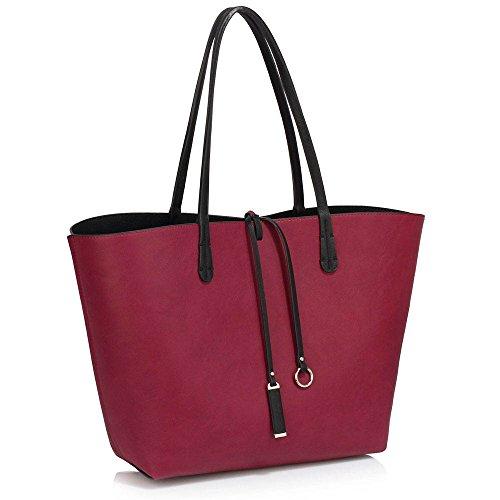 tote-bag-for-women-ladies-celebrity-style-reversible-bag-faux-leather-top-handle-handbags-aa-black-p