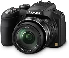 Panasonic Lumix FZ200 Bridge Camera - Black (12MP, 24x Optical Zoom) 3.0 inch LCD