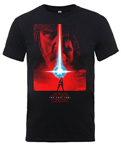 Star Wars Men's The Last Jedi Red Poster T-Shirt