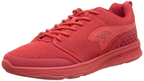 KangaROOS Current, Scarpe da Ginnastica Unisex Adulto Rouge (Flame Red 670)