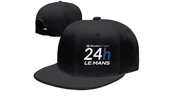 Yyangguang Facsea Runy Custom 24h du Mans Adjustable Baseball Hat /& Cap Black