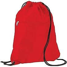 Quadra - Bolsa de gimnasia para adultos rojo rojo