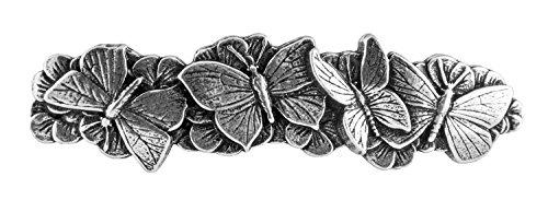 Zubehör Nonne (Butterflies Haarspange | Handgefertigte, metallene Haarspange mit importierten französischen Clips Von Oberon)