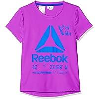 Reebok G ES Pol tee + Camiseta, niñas, Morado (Vicvlt), S