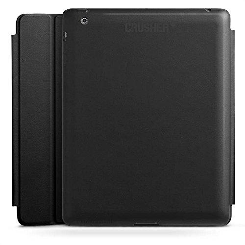 Apple iPad 2 Smart Case schwarz Hülle mit Ständer Schutzhülle Crusher Statement Cool (Crusher Apple)