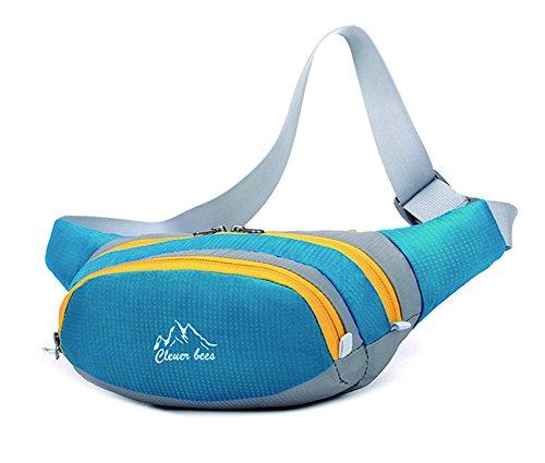 Baymate Unisex Sport Allaria Aperta Pack Escursionismo, Ciclismo, Corsa Blu