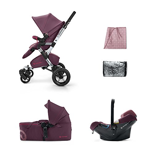 CONCORD KINDERWAGENSET MOBILITY-SET NEO AIR-SCOUT, RASPBERRY PINK, KOLLEKTION 2015