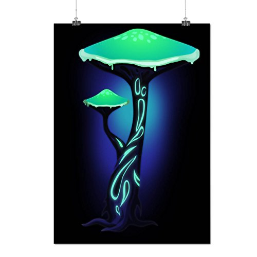 toxic-mushroom-print-nature-fun-matte-glossy-poster-a2-60cm-x-42cm-wellcoda