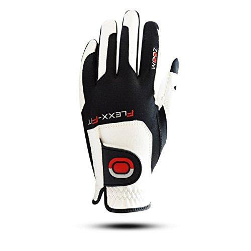 ZOOM GRIP Flexx Fit Damen Golfhandschuh Linkshand (Weiss) -