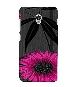 PrintVisa Flower And Leaves Design 3D Hard Polycarbonate Designer Back Case Cover for Lenovo Vibe P1