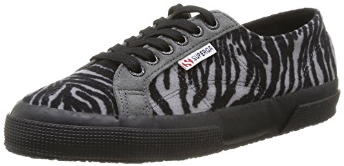 Superga 2750 Fabricwzebra, Baskets mode mixte adulte