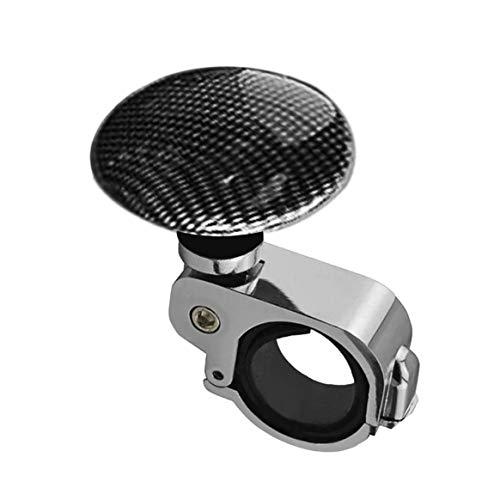 Car Styling Platin Power Griff Lenkrad Metall unterstützt Ball Booster Spin Knob Clamp Fit für Universal Cars