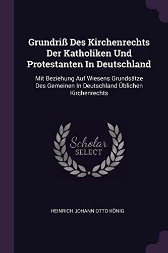 GRUNDRI DES KIRCHENRECHTS DER