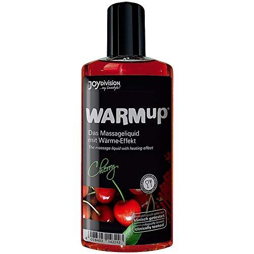 Joydivision WARMup Massageliquid Kirsch, 150 ml