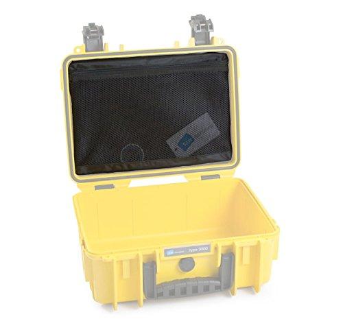 B&W outdoor.cases Netzdeckeltasche (MB) für outdoor.case Typ 3000 - Das Original