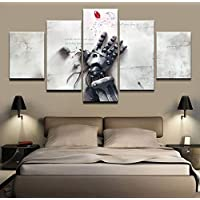 Pinturas de la lona Wall Art Home Decor HD grabados 5 pieces anime Fullmetal Alchemist fotos poster Living modular
