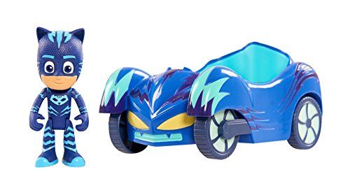 PJ Masks Giochi Preziosi Vehículo Chico Gato (Gattoboy) Blanco