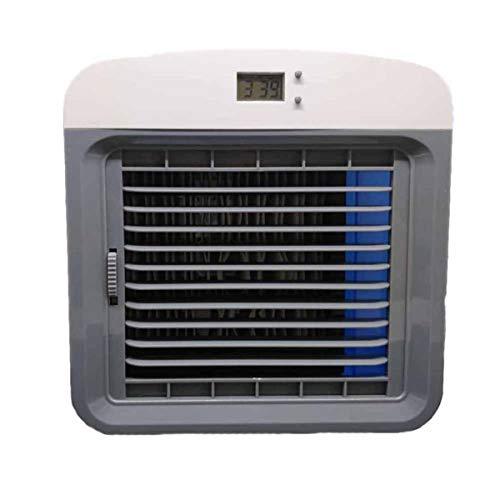 LSQR Conveniente Aire Enfriador Ventilador portátil Digital Aire Acondicionado humidificador Espacio fácil Cool purifica Ventilador de refrigeración de Aire para la Oficina en el hogar