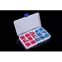 Cocoarm 480er Crimpstecker kit Aderendh/ülsen Sortiment Kabelschuhe Set Draht Stecker Rot Blau Gelb Kit