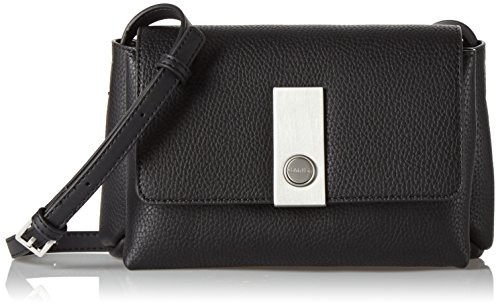 Calvin Klein Damen CARRI3 CROSSBODY Clutch Schwarz (BLACK ) -