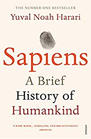 Sapiens A Brief History of Humankind  by Yuval Noah Harari  - Paperback