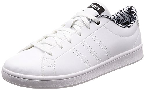 adidas Damen Advantage Clean QT Fitnessschuhe, Elfenbein (Ftwr White/Core Black), 38 EU (Adidas Top Tops-wettbewerb)