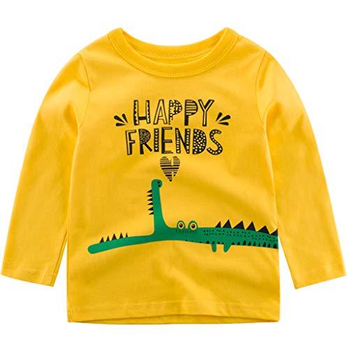 DIASTR Baby Mädchen Langarmshirts Halloween Strampler Tops + Tutu Kleid Rock + Hairband Outfits Set für 6m-3 Jahre Alt