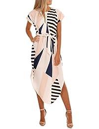 Yesmile Vestido de Mujer Falda Blanco Ropa Vestido Elegante de Noche para