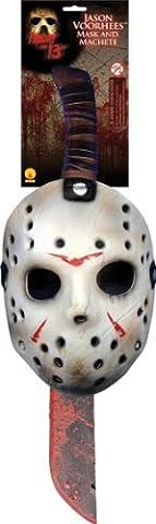 Rubie's Official Jason Mask and Machette Set Fancy Dress