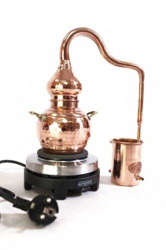 'CopperGarden®' Destille Alembik 0,5 L, elektrisch Test