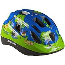 Spiuk Kids - Casco para niños, color verde, talla 52 - 56